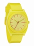 The Time Teller P - Yellow - Nixon Uhr Modell: NX-1250timeteller