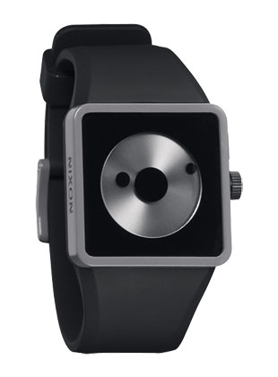 The Newton - Black / Gray - Nixon Uhr