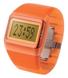 Link Uhr orange