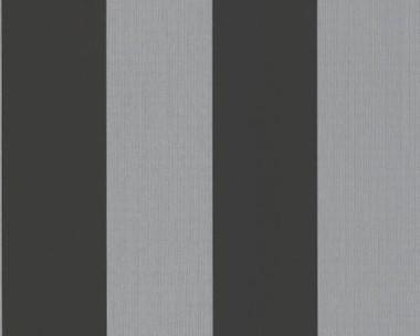 Tapete - Flock II  - Metallic - Streifen breit