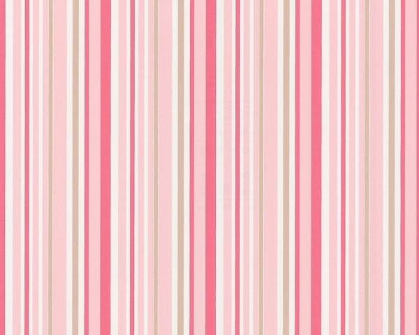 tapete dragoncastle streifen rosa esprit kids retro tapeten pr sentiert von klang und. Black Bedroom Furniture Sets. Home Design Ideas