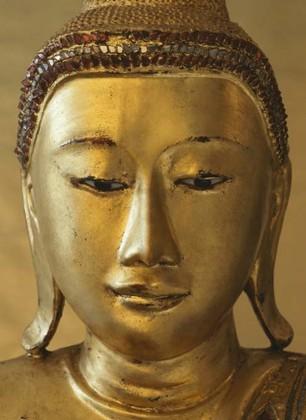 Fototapete - Goldener Buddha