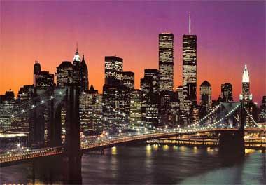 Fototapete - Manhattan Skyline - New York - Klicken für grössere Ansicht