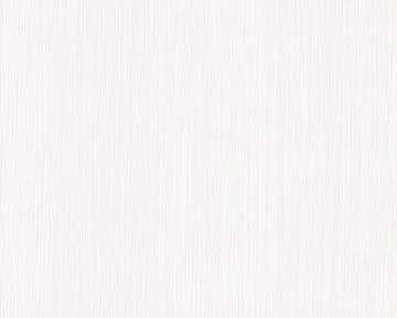 Tapete - Springtime 3 - Uni - Weiss