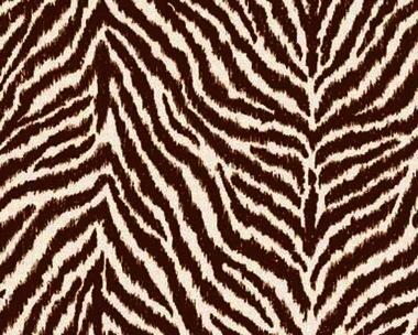 Tapete - Tiger - Beige - Braun