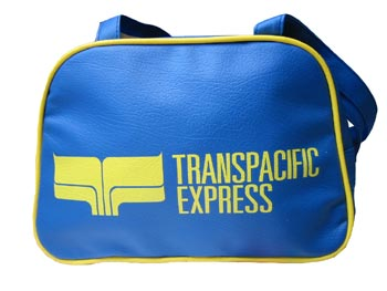Skyline Tasche - Transpacific Express - small, blau