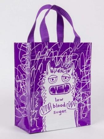 Low Bloo Sugar Shopper klein - Tragetasche