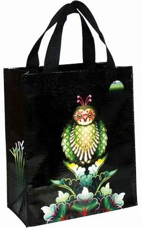Owl Shopper klein - Tragetasche