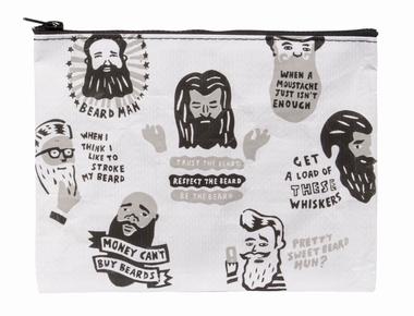 Zipper Tasche - Beards