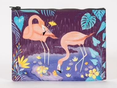 Zipper Tasche - Flamingo