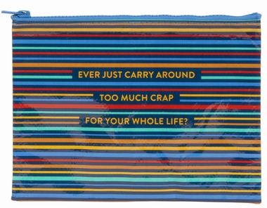 Zipper Tasche - Too Much Crap