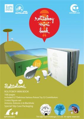 Rolitoboy - Minibook & Toy Set